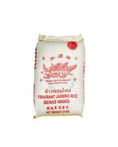 25kg Three Eagles Fragrant White Rice 三鹰牌⾹⽩⽶