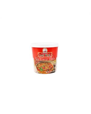 1kg x 12 Mae Ploy Red Curry Paste 红咖喱罐装