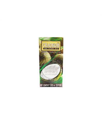 1Ltr x 12 Chaokoh Coconut Milk 泰国椰浆水