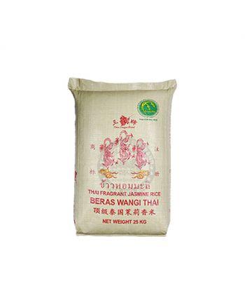 25kg Three Dragon Premium Thai Fragrant Rice  三龍牌顶级泰国香米