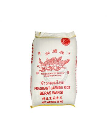 25kg Three Eagles Fragrant White Rice 三鹰牌⾹⽩⽶