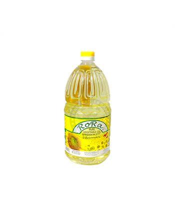 2Ltr x 6 RoRa Sunflower Oil  癸花油