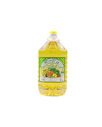 5Ltr x 4 RoRa Cooking Oil 食油